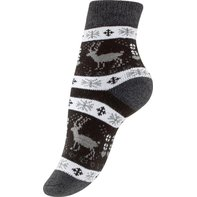 Damen Thermo-Socken mit  Winter Motiven 39-42 1 Paar
