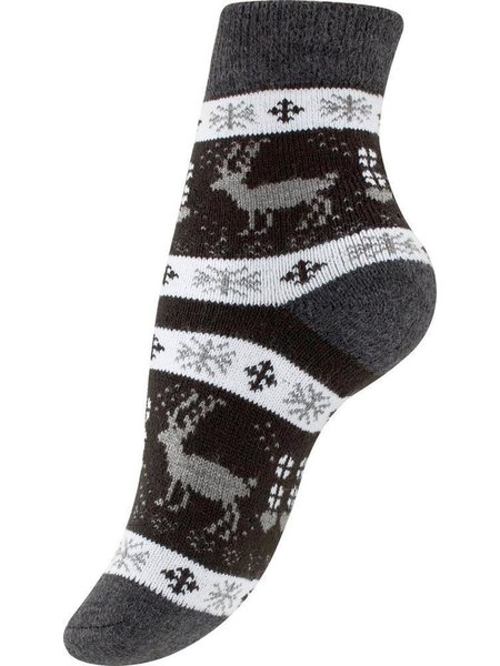 Damen Thermo-Socken mit  Winter Motiven 39-42 6 Paar